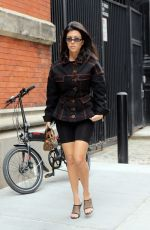 KENDALL JENNER and KOURTNEY KARDASHIAN Leaves Coconut Ice Cream Shop in New York 06/05/2018