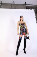 KENDALL JENNER at Backstage of Versace Fashion Show in Milan 06/16/2018