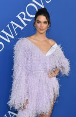 KENDALL JENNER at CFDA Fashion Awards in New York 06/05/2018