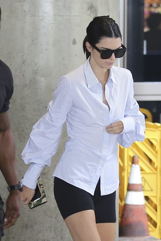KENDALL JENNER at LAX Airport in Los Angeles 06/17/2018