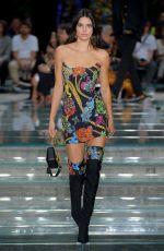 KENDALL JENNER at Versace Fashion Show at Milan Fashion Week 06/16/2018