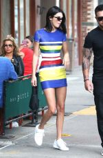 KENDALL JENNER Out and About in New York 06/06/2018