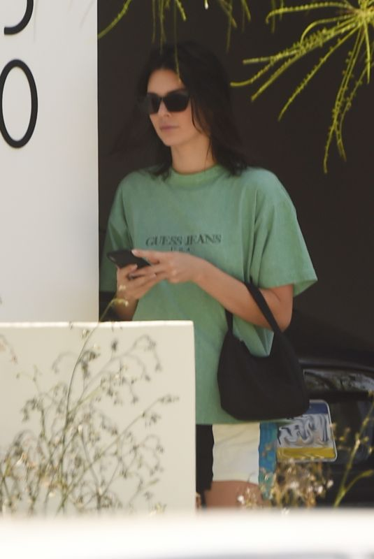 KENDALL JENNER Out in Los Angeles 06/22/2018