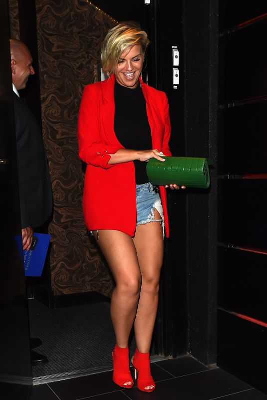 KERRY KATONA at Kristofer James Single Launch Party in London 06/28/2018