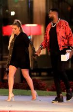 KHLOE KARDASHIAN Night Out in Beverly Hills 06/25/2018