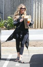 KHLOE KARDASHIAN Out and About in Calabasas 06/18/2018