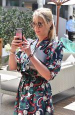 KIERA CHAPLIN at Roland Garros Village in Paris 06/07/2018
