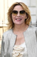 KIM CATTRALL at Royal Academy of Arts Summer Exhibition Preview Party in London 06/06/2018