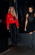 KIM KARDASHIAN and LALA ANTHONY  at Secret Nas Concert with Kanye West in Queens 06/14/2018