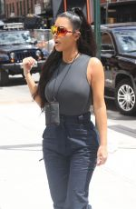 KIM KARDASHIAN Out and About in New York 06/15/2018