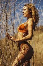 KIMBERLEY GARNER for Her Bikini Line in a Corn Field in California 2018