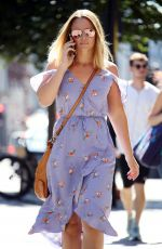 KIMBERLEY WALSH Leaves Intertalent House in London 06/25/2018