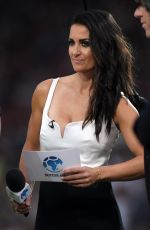 KIRSTY GALLACHER at Soccer Aid Event in Manchester 06/10/2018