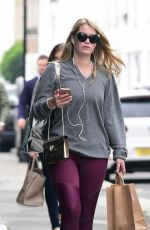 KITTY SPENCER Out and About in London 05/31/2018