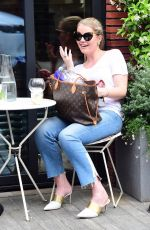KITTY SPENCER Out for Lunch in Chelsea 06/19/2018