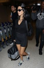 KOURTNEY KARDASHIAN at LAX Airport in Los Angeles 06/18/2018