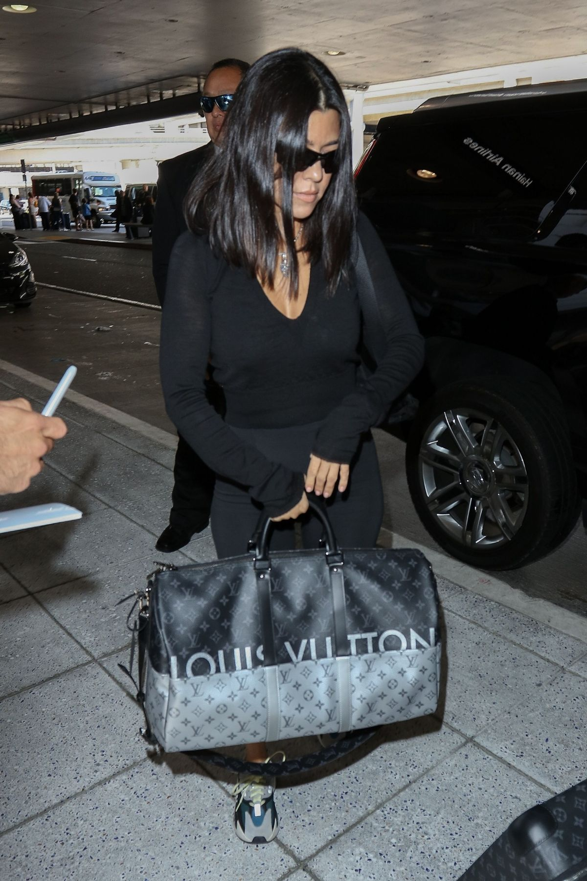 Image result for kourtney kardashian  airport
