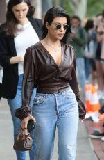 KOURTNEY KARDASHIAN in Jeans Out in New York 06/06/2018