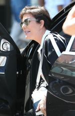 KRIS JENNER Shopping at Topanga Mall in Los Angeles 06/13/2018