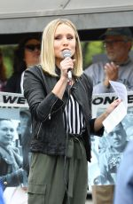 KRISTEN BELL at Keep Families Together Rally and Toy Drive in Los Angeles 06/23/2018