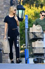 KRISTEN STEWART and STELLA MAXWELL at Gelson
