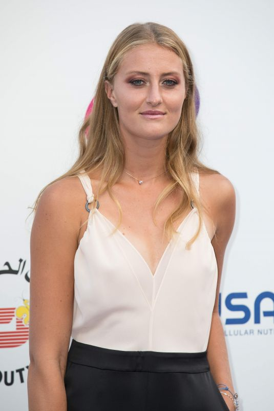 KRISTINA MLADENOVIC at WTA Tennis on the Thames Evening Reception in London 06/28/2018