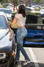 KYLIE JENNER and JORDAN WOODS Out in Calabasas 06/08/2018