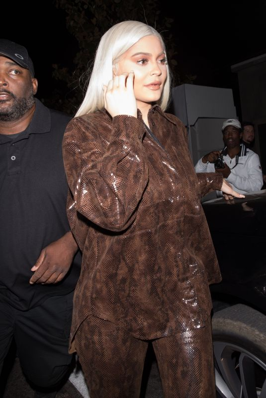 KYLIE JENNER at Tao in Hollywood 06/09/2018