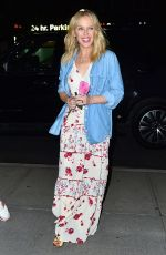 KYLIE MINOGUE Arrives at Her Hotel in New York 06/25/2018