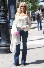 KYLIE MINOGUE in Denim Out in New York 06/25/2018