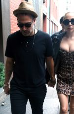 LADY GAGA and Christian Carino Out in New York 06/28/2018
