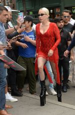 LADY GAGA Arrives to Electric Lady Studios in New York 06/27/2018