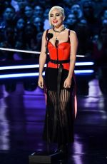 LADY GAGA at 2018 MTV Movie and TV Awards in Santa Monica 06/16/2018
