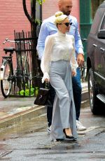LADY GAGA Out and About in New York 05/31/2018
