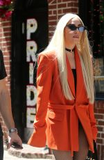 LADY GAGA Out and About in New York 06/25/2018