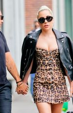 LADY GAGA Out and About in New York 06/28/2018
