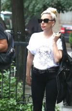 LADY GAGA Out in New York 05/31/2018