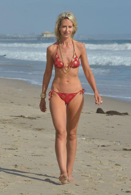 LADY VICTORIA HERVEY in Bikini at a Beach in Malibu 06/12/2018