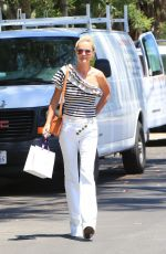 LAETICIA HALLYDAY Out Shopping in Beverly Hills 06/19/2018
