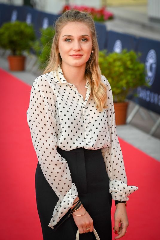LAETITIA CLEMENT at 2018 Cabourg Film Festival Closing Ceremony 06/16/2018