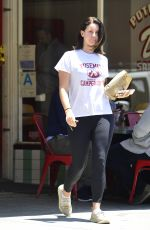 LANA DEL REY Out and About in Los Angeles 06/18/2018