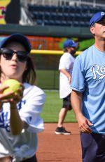 LAURA MARANO at Big Slick Celebrity Softball in Kansas City 06/01/2018