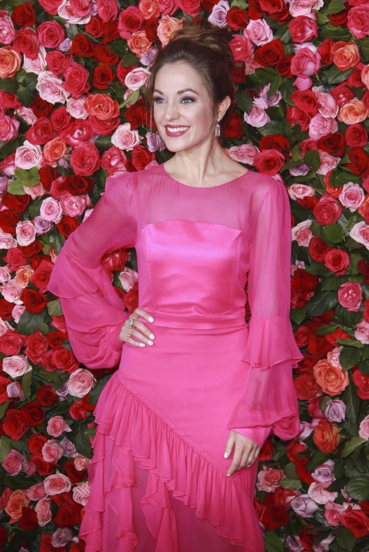 LAURA OSNES at 2018 Tony Awards in New York 06/10/2018