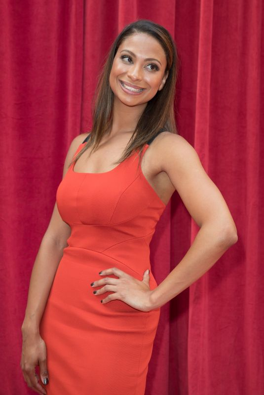 LAURA ROLLINS at British Soap Awards 2018 in London 06/02/2018