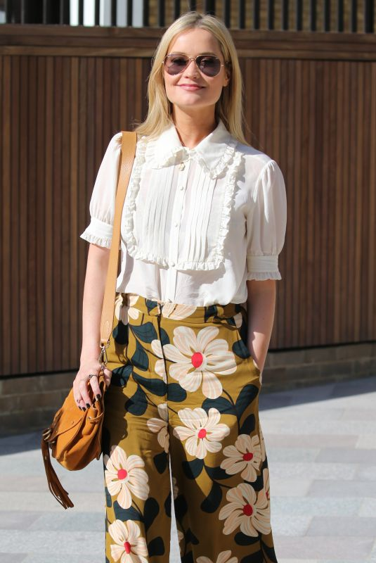 LAURA WHITMORE at ITV Studios in London 06/21/2018