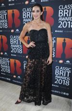 LAURA WRIGHT at Classic Brit Awards in London 06/13/2018