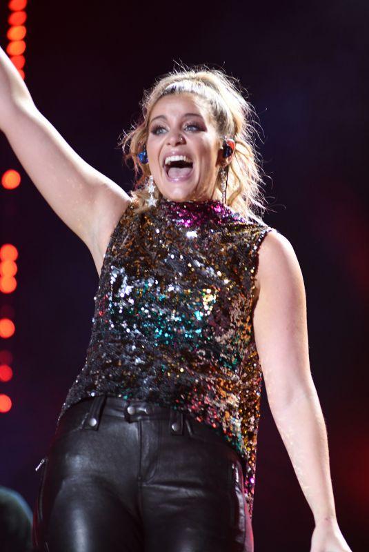LAUREN ALAINA at 2018 CMA Fest Night at Nissan Stadium in Nashville 06/08/2018