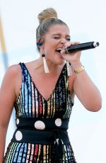 LAUREN ALAINA at 2018 CMAFestival at Chevy Riverfront Stage in Nashville 06/07/2018