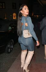 LAUREN GOODGER in Tights Night Out in Brighton 06/24/2018