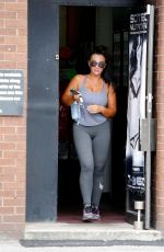 LAUREN GOODGER Leaves a Gym in Essex 06/07/2018